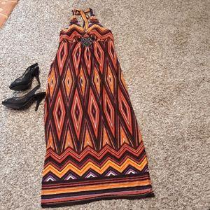 Valerie Bertinelli Maxi Dress. Size:14